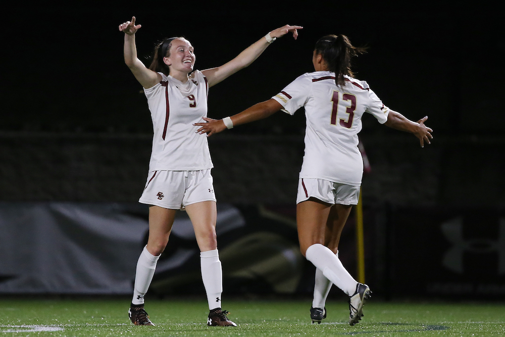 Smith, BC Send UMass Packing With 88th-Minute Stunner