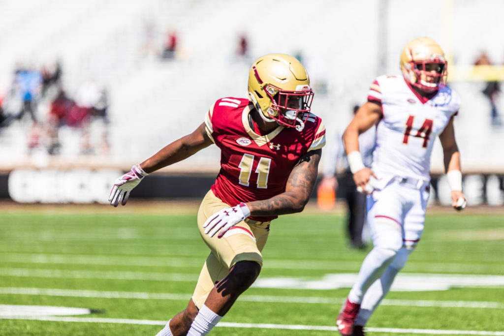 In First Scrimmage, BC Not Quite Up to Speed but Playmakers and Special Teams Flash Potential
