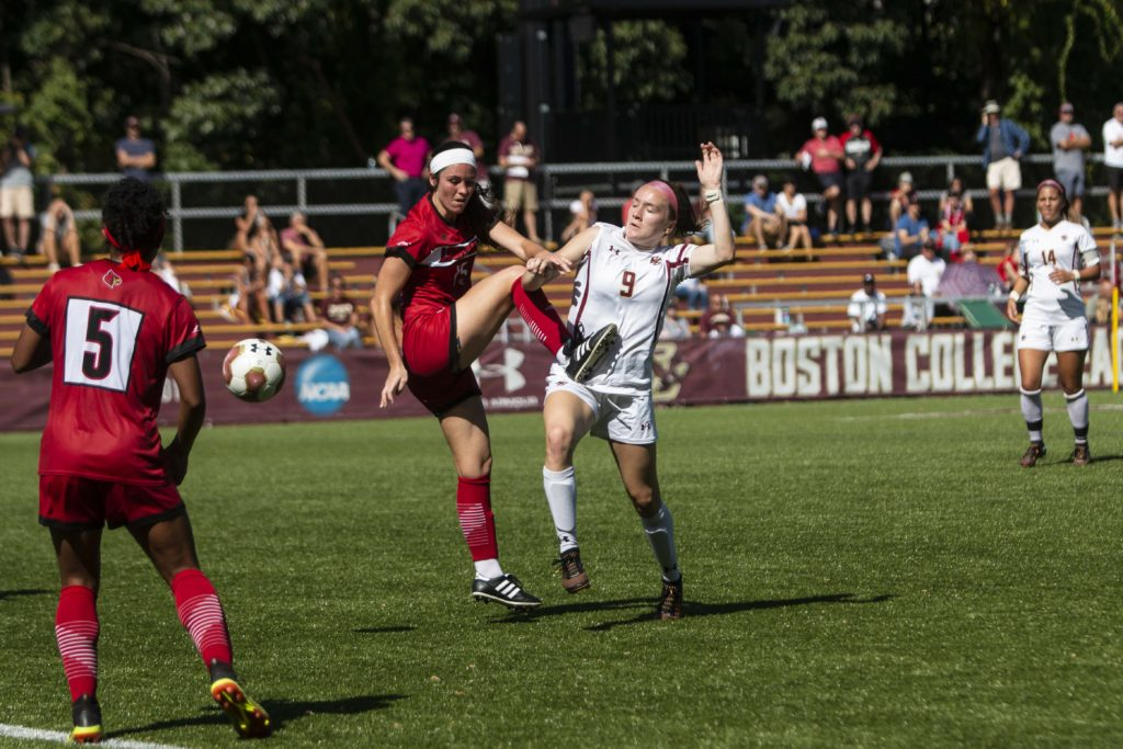 BC Concedes Twice in the First Half, Loses to No. 22 Louisville