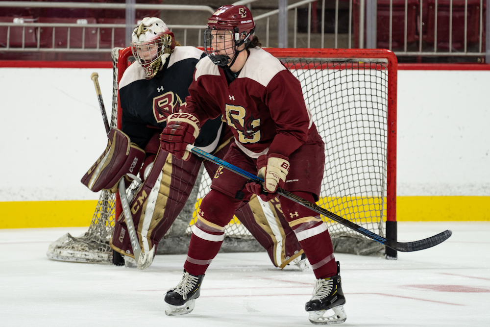 2019-20 Women's Hockey Preview: New-Look Eagles Aim to Overcome Doubts