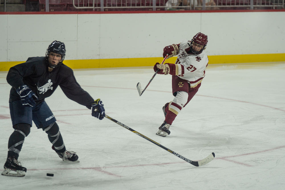 Behind New Faces, BC Beats PWHPA in Exhibition Game