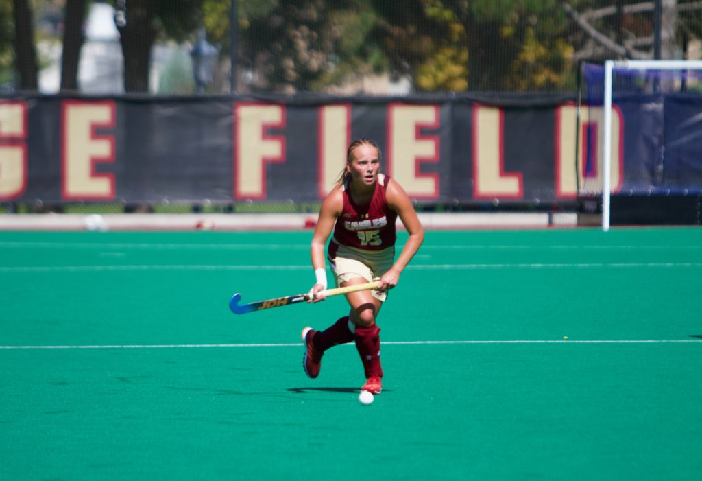 Eagles Shut Out No. 18 Wake Forest, Begin ACC Play with Win