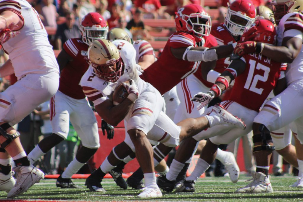 Dominant Rushing Attack Leads BC to Bounce-Back Win at Rutgers