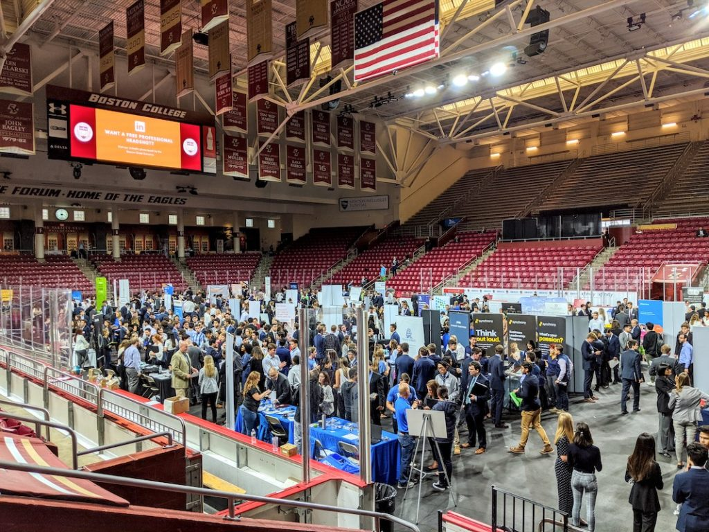 Career Fair Draws Over 2,000 Students