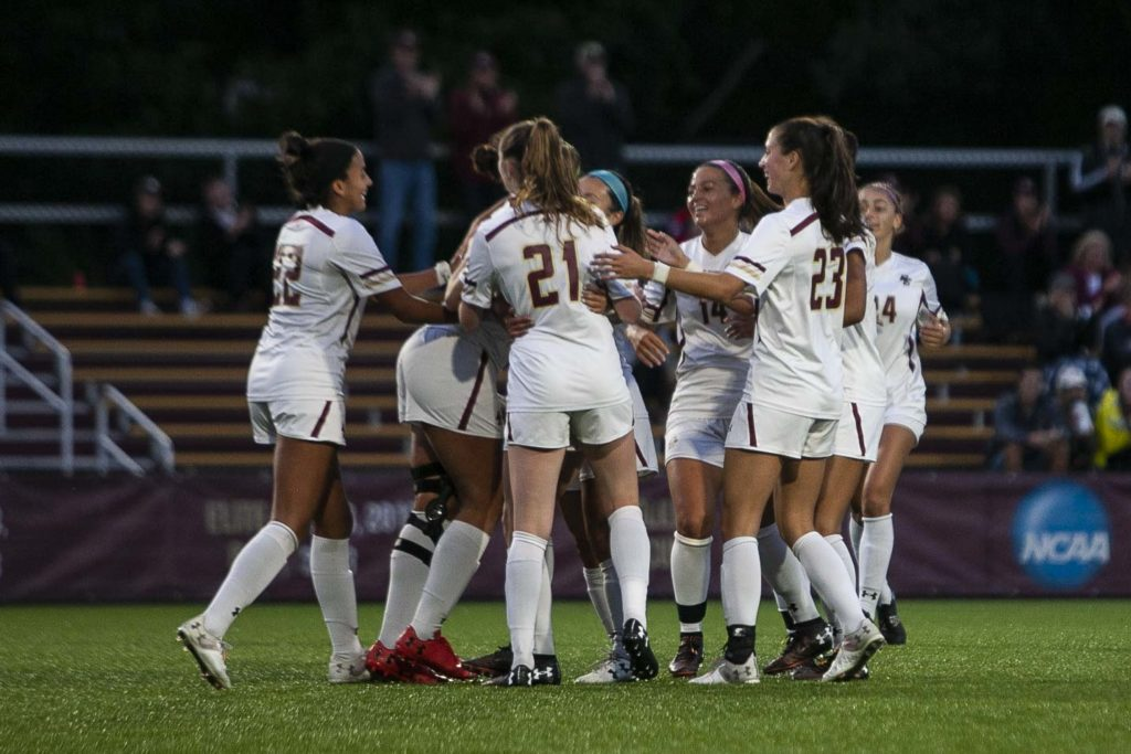 BC Beats Bulldogs Thanks to Late Goals, Finishes Non-Conference Slate Unbeaten