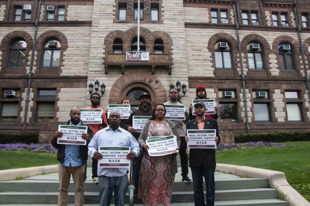 R.A.C.E Protests at Cambridge City Hall