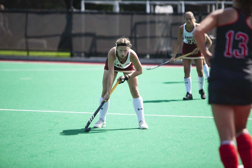 Eagles Can't Keep Pace, Fall to No. 2 Maryland