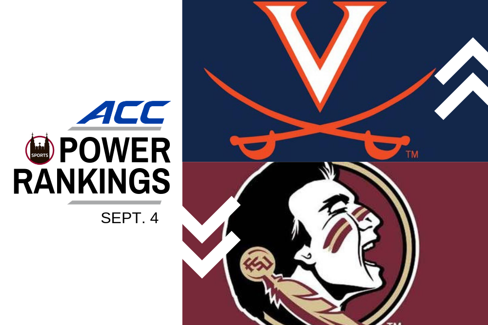 ACC Power Rankings: Clemson Showcases Plethora of Weapons in Week 1