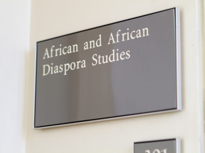African and African Diaspora Studies Now a Major