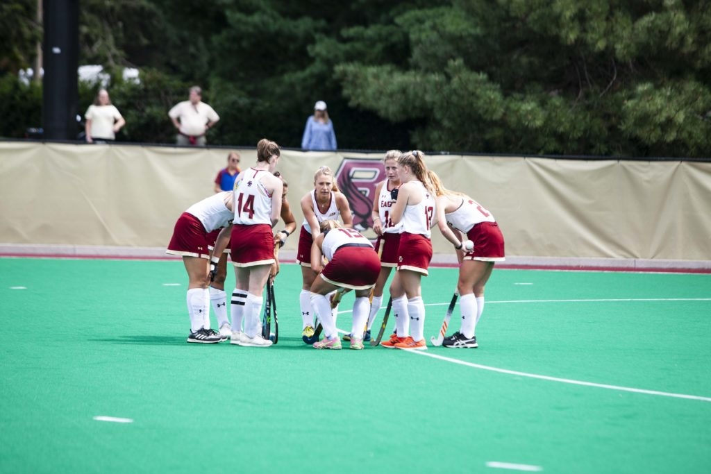 Late Goal Propels BC Past Providence in First Game of Season