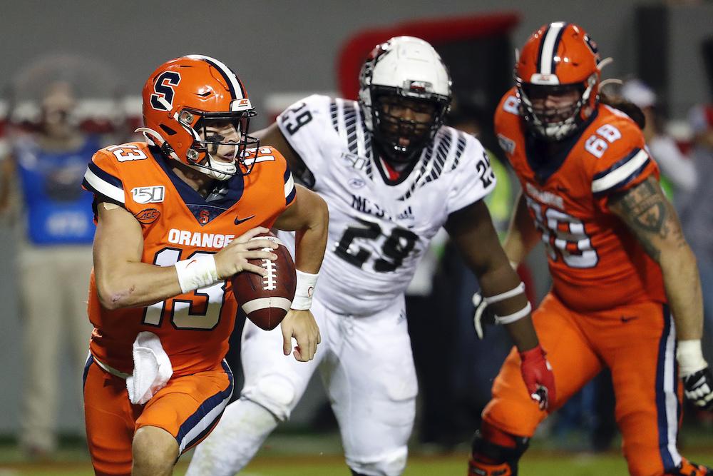 Addazio, BC Looking to Rebound Against Struggling Syracuse