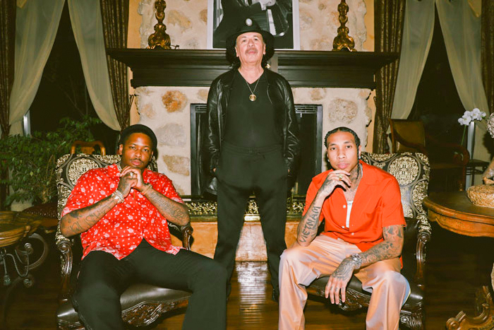 Tyga, YG Fail to Match Santana's Standards in  Collab Video