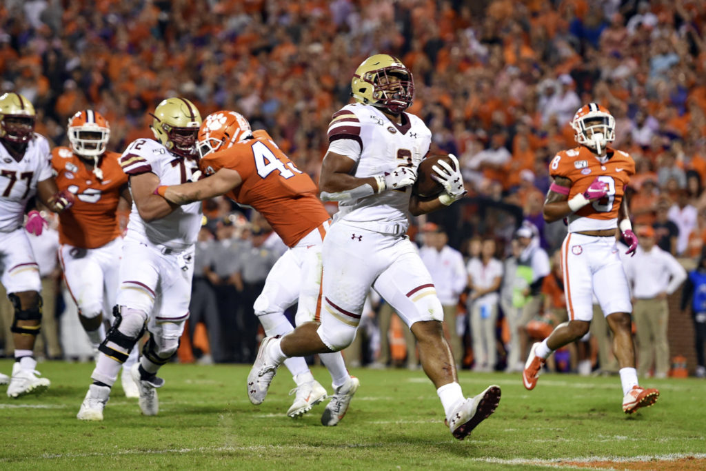 In Death Valley, Dillon Becomes Program's All-Time Leading Rusher