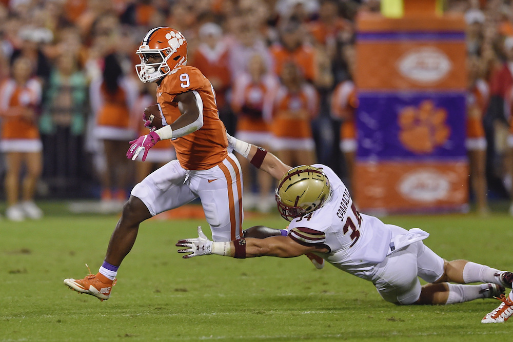 No. 4 Clemson Wins 23rd Straight Game, Pummels BC
