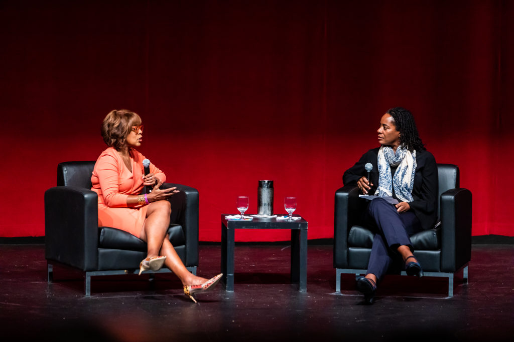 Gayle King Speaks About Her Career at CWBC Colloquium