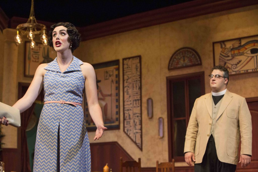 BC Theatre's 'Murder on the Nile' Animates Agatha Christie Classic