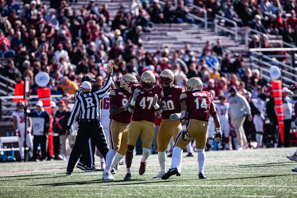BC Follows Bye Week With Its Best Defensive Performance of the Year