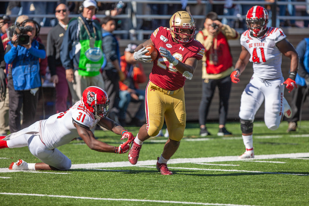 Dillon, Bailey Run Rampant in Rout of N.C. State
