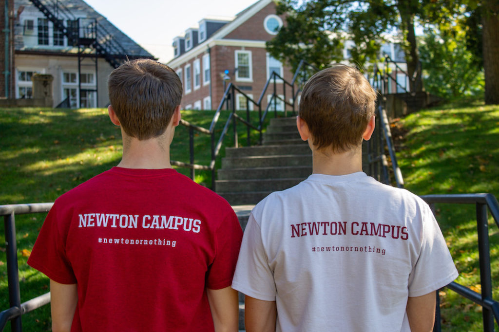 Newton Apparel Line Celebrates Freshman Community