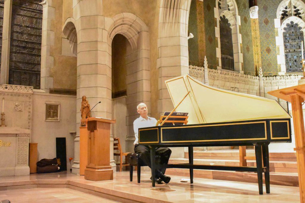 Peter Watchorn Passionately Performs Bach's 'Goldberg Variations'