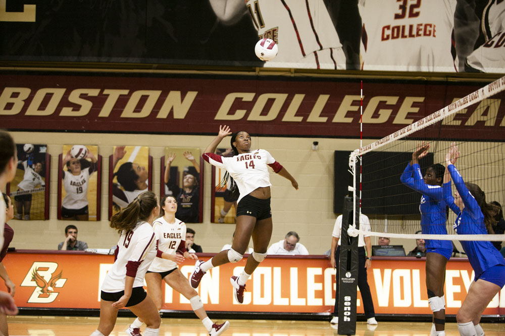 BC Wins Third Straight to Open Conference Play, Beats Duke