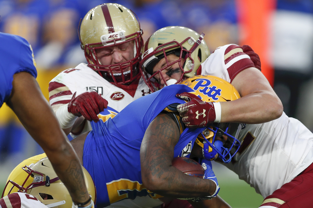 BC Clinches Bowl Eligibility Behind Dillon, Defense