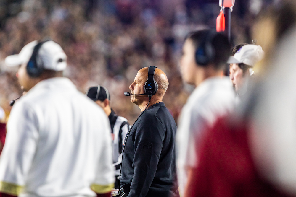 With Bowl Eligibility at Stake, Addazio Looks Ahead to Pittsburgh