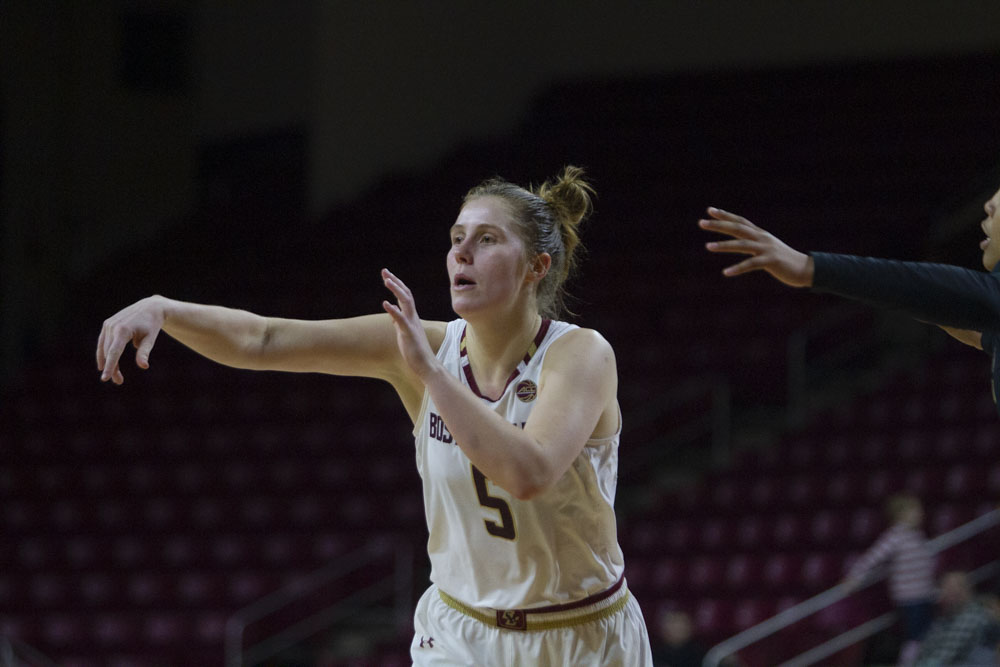 Pineau Powers Eagles Past URI, Snap Two-Game Skid