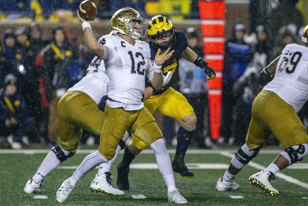 Previewing 2019 Football: at No. 15 Notre Dame