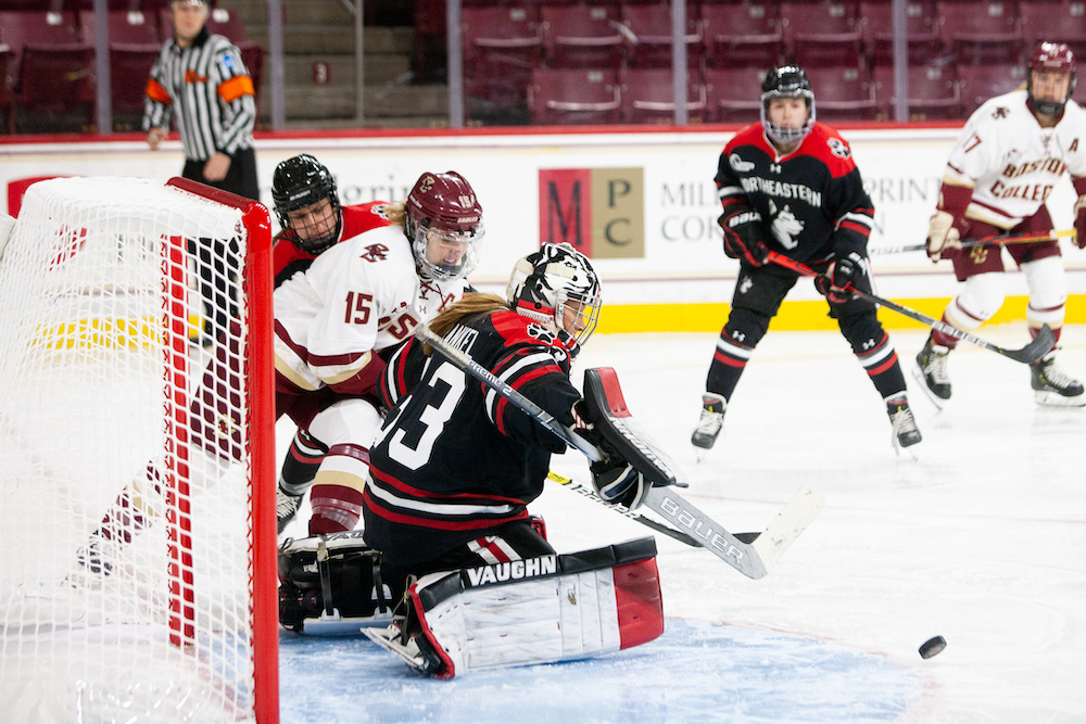Frankel, No. 4 Northeastern Hand Eagles First Shutout Loss of Year