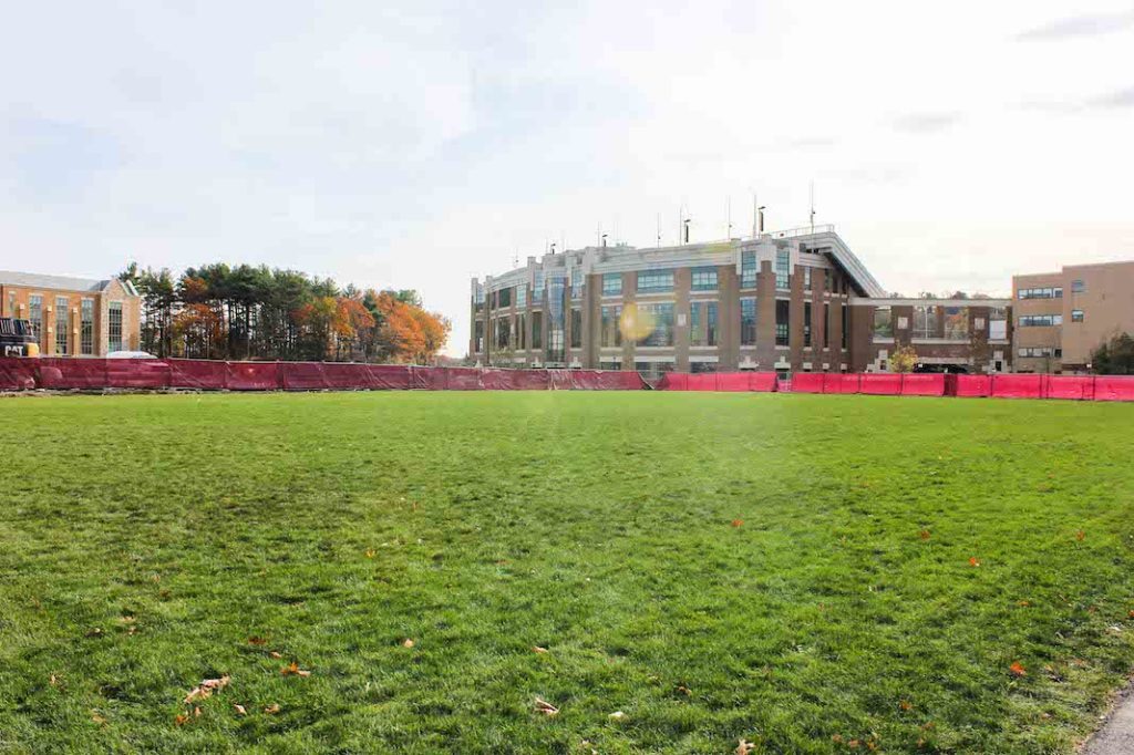 New Green Spaces Coming to Lower Campus