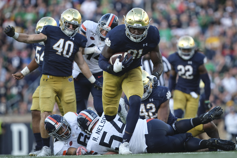 Addazio, Eagles Aim to End Two Notre Dame Streaks in South Bend