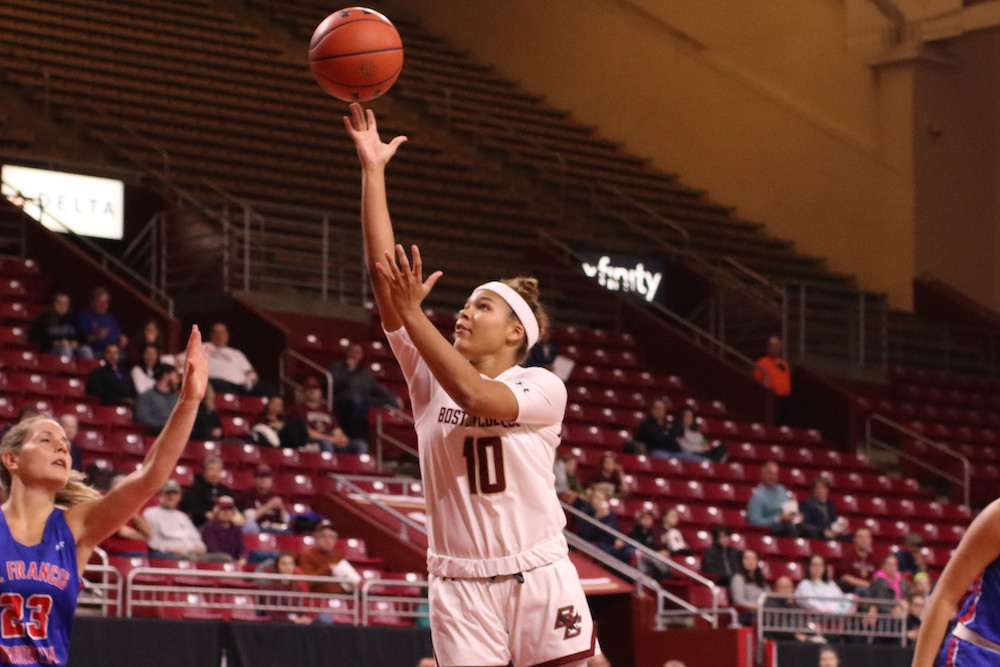 BC Drops Second Straight, Falls to Providence on the Road