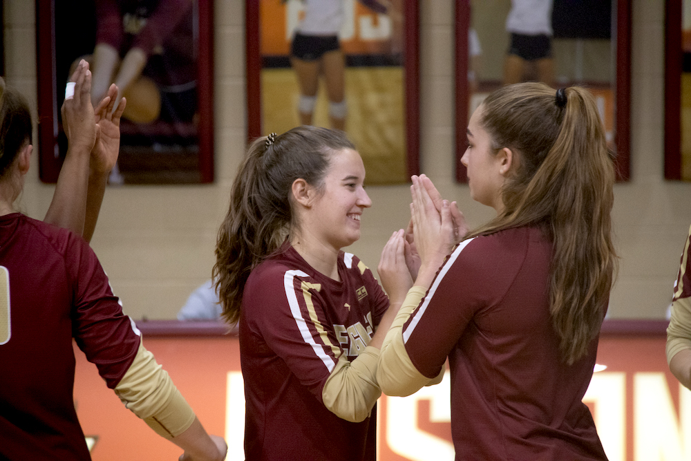Eagles Rally for Five-Set Win Over Wake Forest