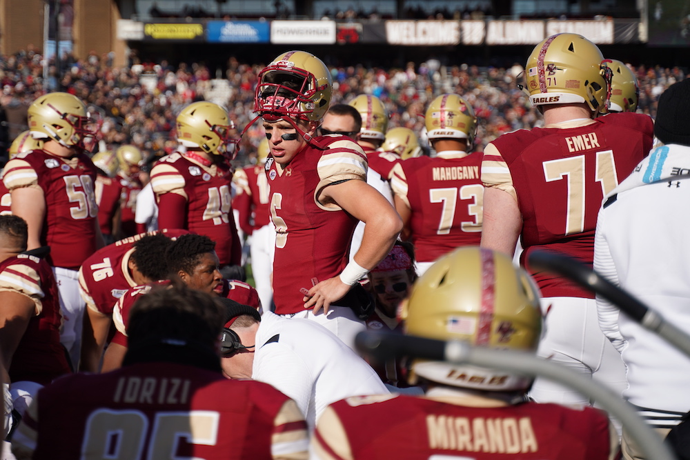 Four Bye Week Thoughts on BC Ahead of Notre Dame, Pittsburgh