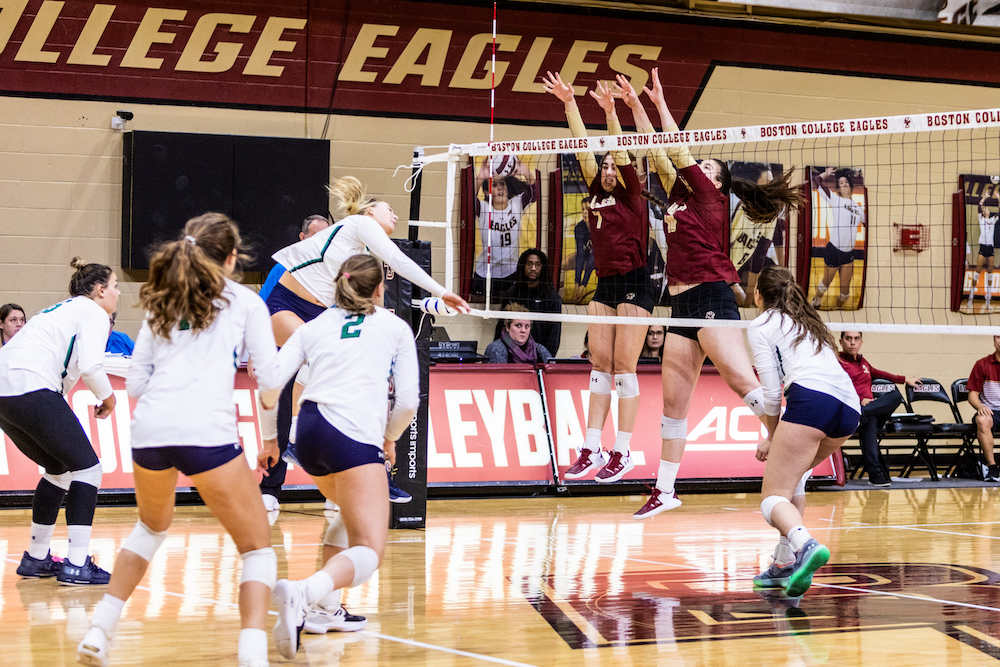 Eagles Squander Lead, Fall in Five Sets to Notre Dame