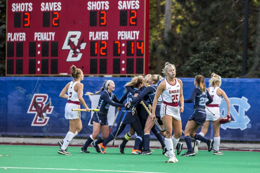 Eagles Fall to No. 1 UNC in ACC Championship