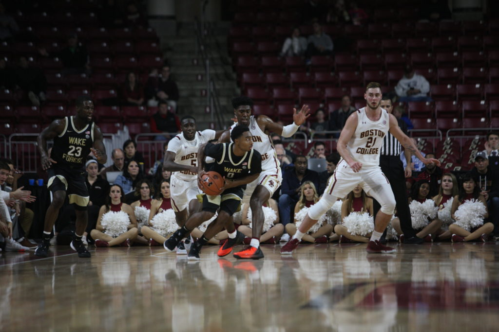 Defensive Effort, Balanced Scoring Help Eagles Open Season with Win Over Wake Forest