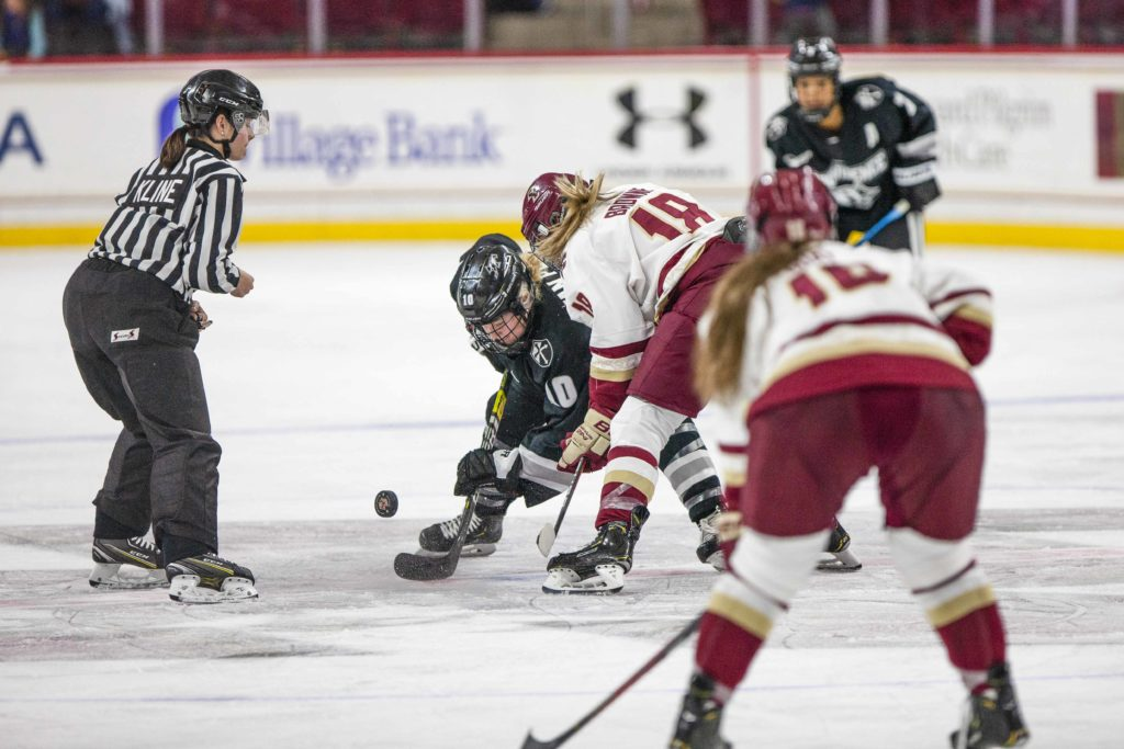 BC Flexes Offensive Muscle, Beats Providence 5-2