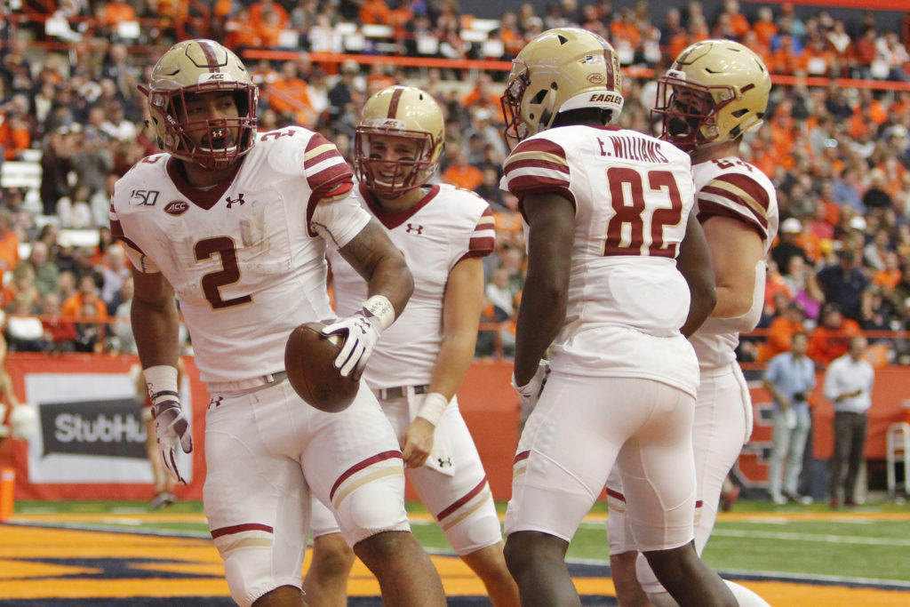 Notebook: Offensive Line, Grosel Impress in Dominant Win Over Syracuse
