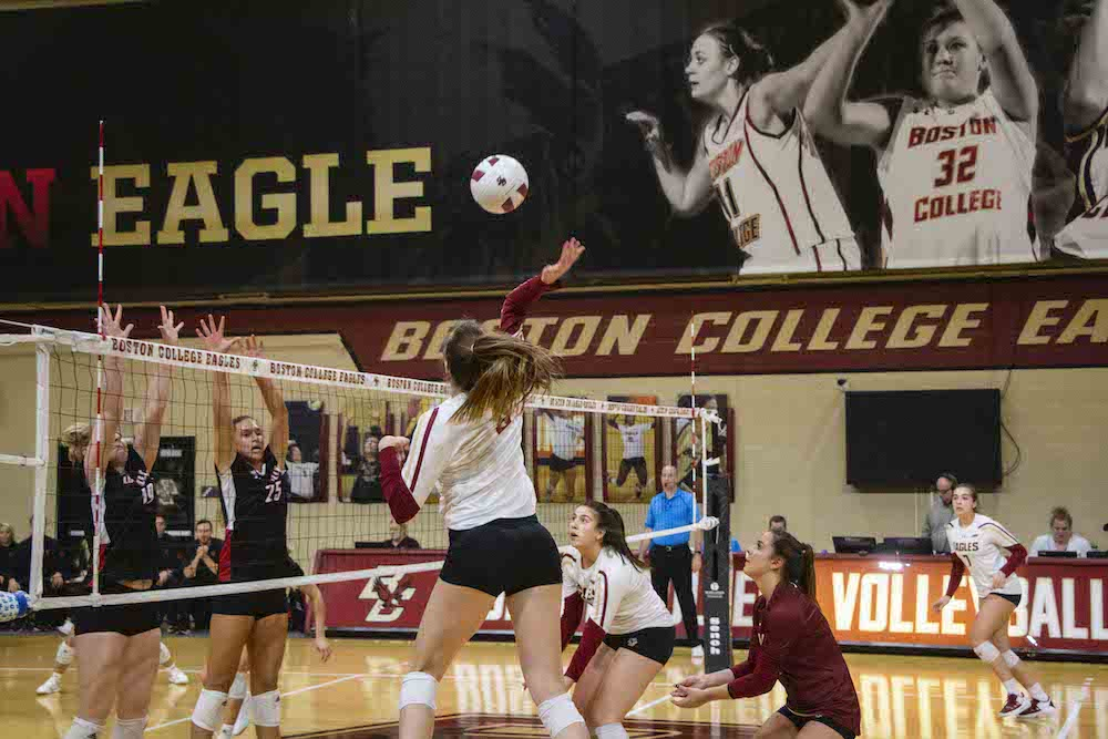 Eagles Rally Past Louisville in Five Sets