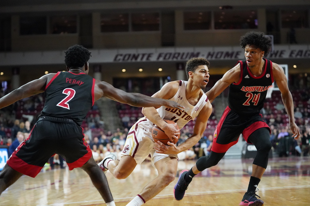 Louisville's Nwora Leads Charge Over BC
