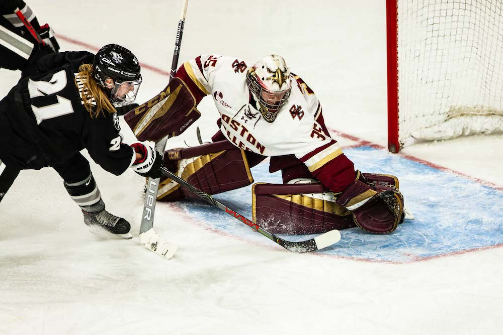 Eagles Fall to Providence in Regulation, Split Weekend