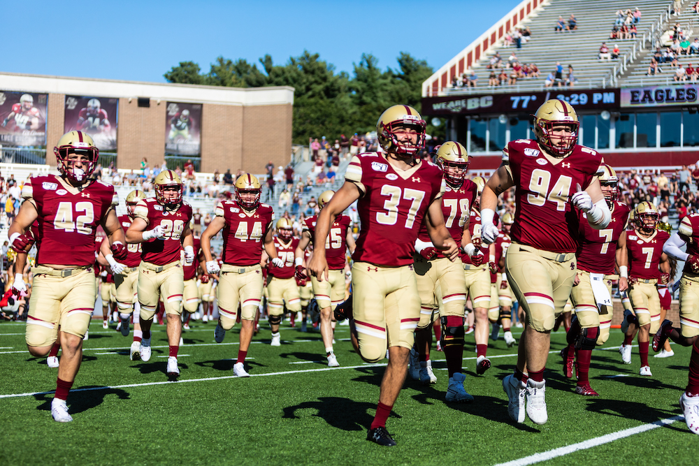 BC Football Releases Complete 2020 Schedule