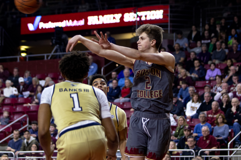 Go Figure: BC's 3-Point Percentage Continues to Plummet While Attempts Increase