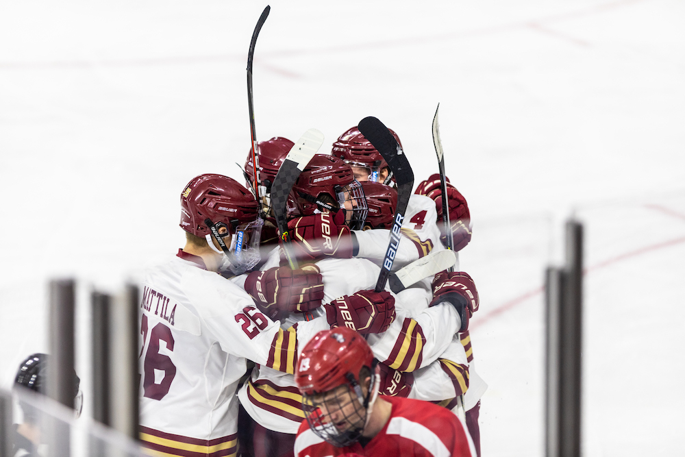 Notebook: Offensive Speed and Hutsko's Dominance Lead Win Over BU