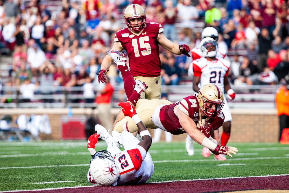 Boston College Football Names Steve Shimko Tight Ends Coach