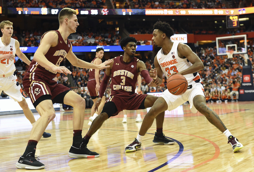 BC Suffers Second Straight Loss at Syracuse