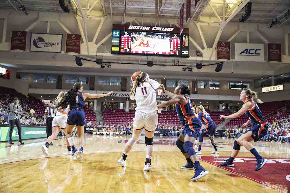 Eagles Fall to Virginia Despite Efforts by Soule, Guy