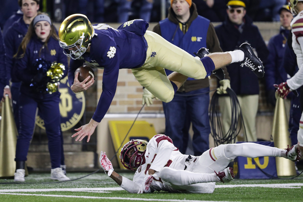 Notre Dame QB Phil Jurkovec to Join the Eagles